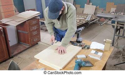 atelier, meubles