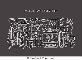 atelier, musique