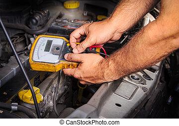 atelier réparations automatique