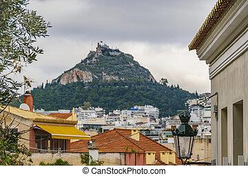 Atenas Aerial View Cityscape