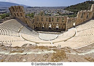 atenas, teatro, atticus, herodus