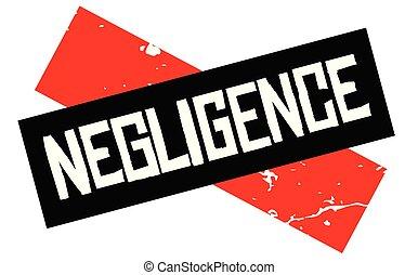 atención, negligencia, señal