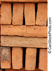 Aternating Adobe Bricks