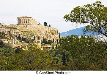 athènes, colline, philopappos, grèce