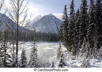 athabasca, 川