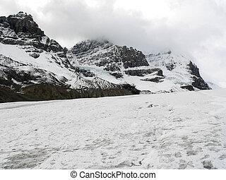 athabasca, ghiacciaio