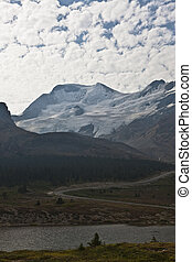 athabasca, ghiacciaio, -, jasper parco nazionale, -, alberta, -, canada