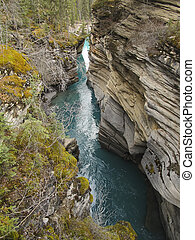 athabasca, nazionale, fiume, parco, diaspro