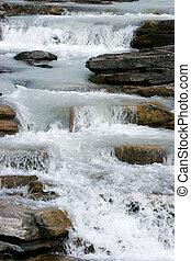 athabasca,  rapids, nazionale, parco, diaspro, fiume
