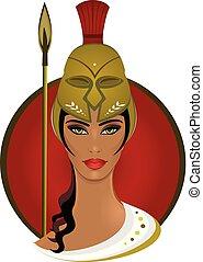 Athena, Greek Goddess of Wisdom and War
