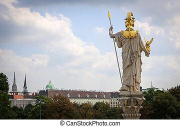 Athena Statue, Vienna