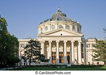 Atheneum - Bucharest landmark building