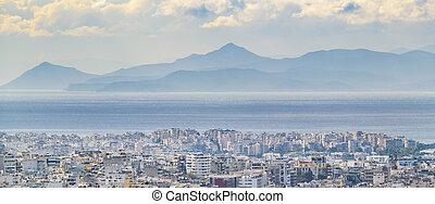 Athens Aerial Landscape, Greeece