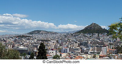 Athens as seen from the Acropolis