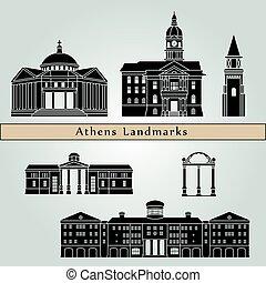 Athens GA landmarks