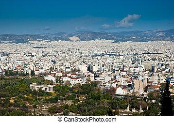 Athens panorama, Greece