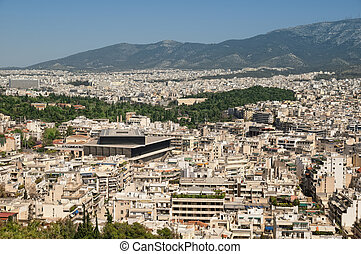 Athens view from Filopappou Hill