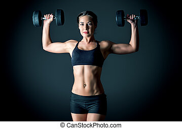 athlète, femme