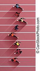 athlètes, jeux olympiques