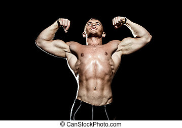 athlétique, homme fort