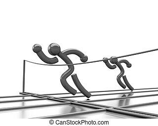 athlétisme, concurrence
