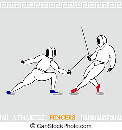 Athlete Fencers
