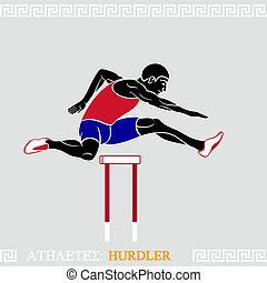 Athlete Hurdler