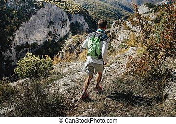 athlete male runner
