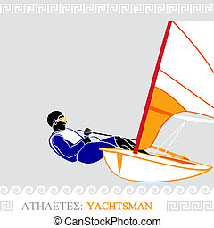 Athlete yachtman