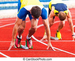 athleten, start
