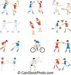 Athletes Kids set