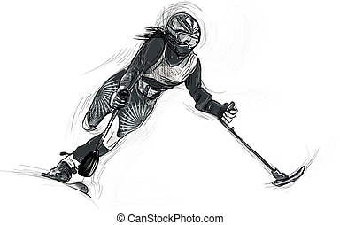 Athletes with physical disabilities - ALPINE SKIING - ALPINE...