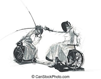 Athletes with physical disabilities - FENCING