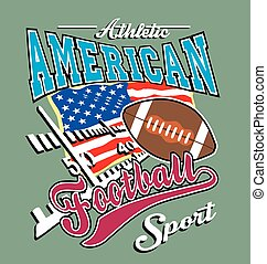 athletic american football