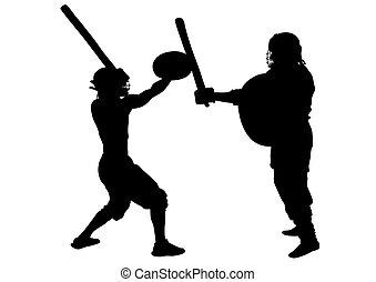 Athletic gladiators seven