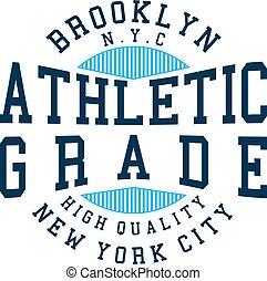 athletic grade