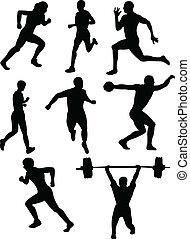 Athletics silhouette