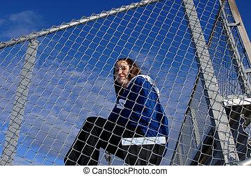 Athletics supporter