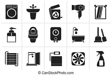 athroom and toilet objects