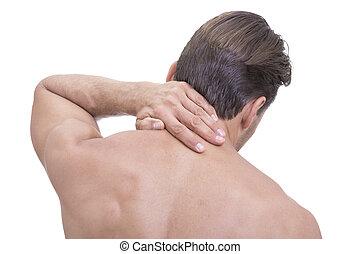 atlético, dolor de cuello