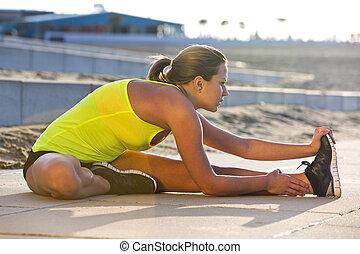 atlético, esticar mulher