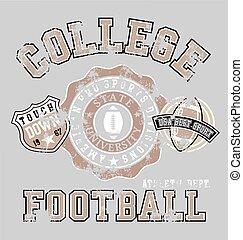 atlético, fútbol americano, colegio