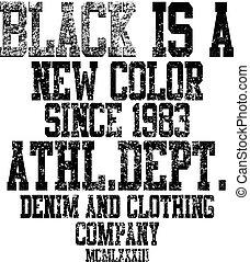 atlético, vectors, camiseta, tipografía, york, gráficos, ...