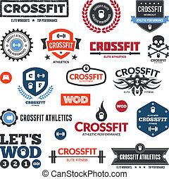 atlétika, crossfit, grafika