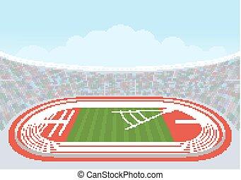atlétika, stadion, competitions.