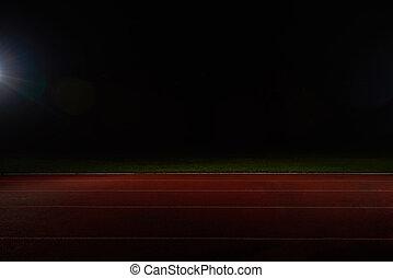 atlétikai, útvonal