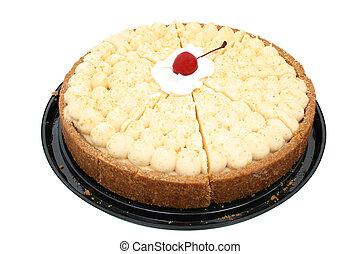 Atlanta Cheesecake - Atlanta cheesecake with cherry in...
