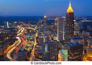 Atlanta Georgia - SKyline of Atlanta, Georgia