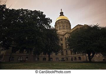 State Capitol of Georgia in Atlanta.