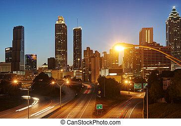 Atlanta,  hdr